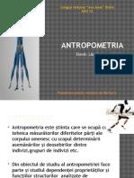 Determinarea Starii de Sanatate in Functie de Datele Biometrice (Antropometrie)