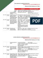 Agenda Del 8 Al14 de Diciembre