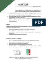 AMEXCAP at a Glance (Beneficios y Cuotas 2014)_ESP_10 12 2014 MAGM