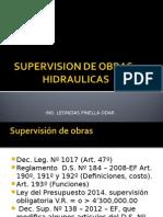 Supervision Obras Hidraulicas