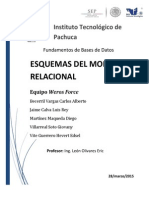 Esquemas del Modelos Relacional
