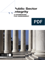 OECD Publication Public Sector Integrity - A Framework for Assesment