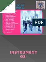 Instrumentos Gerenciales