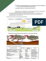 Contaminantes Atmosféricos y Metodologías Para El Monitoreo de Las Emisiones en Fuentes Estacionarias