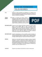 Glosario de Términos TV