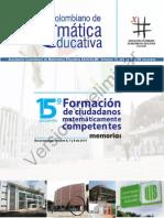 15º Encuentro Colombiano de Matemática Educativa_140312(Preliminar)