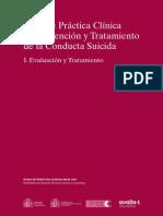 Guía de Práctica Clínica de Prevención y Tratamiento de La Conducta Suicida - Evaluación y Tratamiento