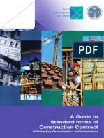 A Guide to the Standard Forms of Contracts