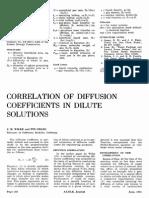 Coeficientes de difusividad