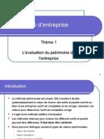 2 Evaluation D-Entreprise Patrimoniale