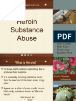 heroin teaching project