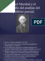 Alfred Marshal y El Desarrollo Del Analisis Del