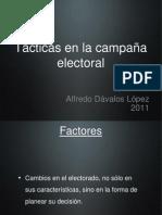 La Tácticas en Campaña Electoral