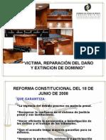 Clase Colima Victima Reparacion Del Dano y Extincion de Dominio