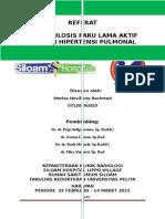 Referat Radiologi Tb Parulama Aktif Dengan Hipertensi Pulmonal