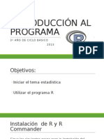Introducción Al Programa r