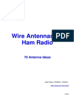 70 Wire Antennas for Ham Radio