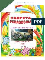 Carpeta pedagogica inicial 3 4 y 5