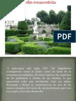 El Jardin Renacentista