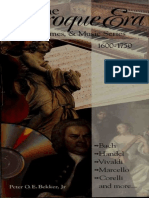The Baroque Era (the Life, Times and Music Series - Art eBook)
