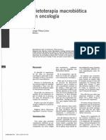 Dietoterapia Macrobiotica En Oncologia