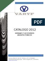 Catalogo Varyf 2012+