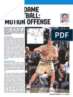Notre Dame Basketball - Motion Offense