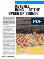 Basketball training... at the speed of sound!