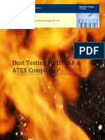 DSEAR Dust Explosions