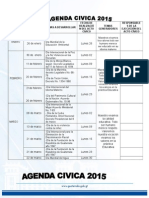 Agenda Cívica 2015