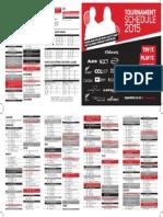 Squash Tournament Schedule 2015 New Zealand