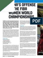 China's Offense ate the Fiba Women World Championships