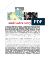 Middle Eastern History Part 2