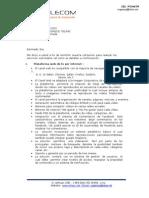 Propuesta Servicio Canal Web