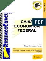 Caixa Economica Federal 2010 - Simulado Geral.pdf