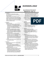 L Pembahasan Ps4 SOSIOLOGI Superintensif SBMPTN 2013
