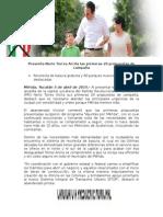05-04-2015 Presenta Nerio Torres Arcila las primeras 20 propuestas de campaña