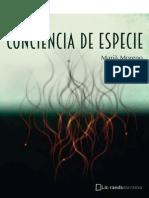 Conciencia de Especie - Maria Moreno