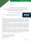 Desviaciones en El Neurodesarrollo de Pacientes de 18 meses Con Alto riesgo neurologico