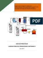 Laboratorio de Operaciones Unitarias II Julio2014