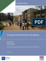 Tertiary Education 2014 Oketch2