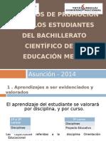 Ppt. Criterios de Promocion 03-06-14