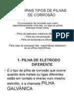 PILHAS, Formas
