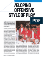 Developing an Offensive style of play