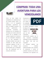 Artículo Nuevos Hábitos del Consumidor Venezolano
