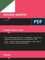 Tugas review skripsi