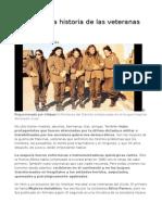 La Silenciada Historia de Las Veteranas de Malvinas
