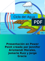 Ciclo Del Agua Power Point 2015