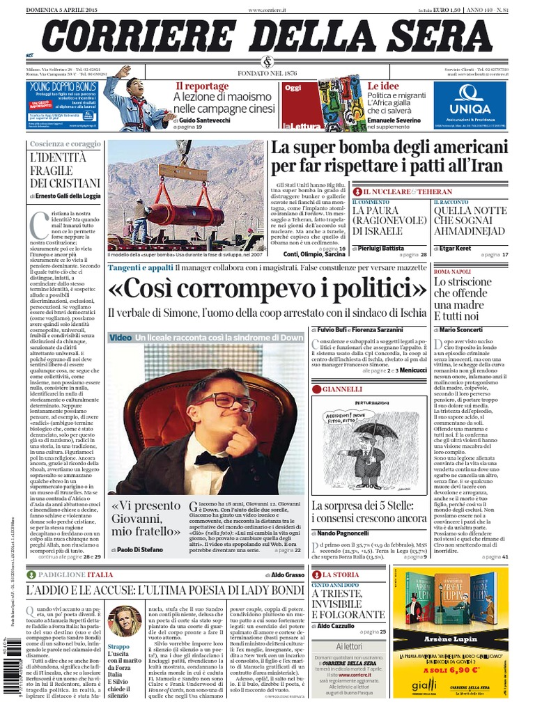 Corriere della Sera 75376ec918e6