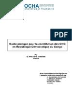 Guide Pratique Pour La Constitution Des ONG au Congo